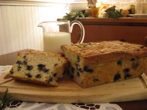 Blueberry Vanilla Bean Loaf