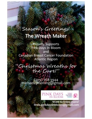 Christmas Wreaths for the Cure!