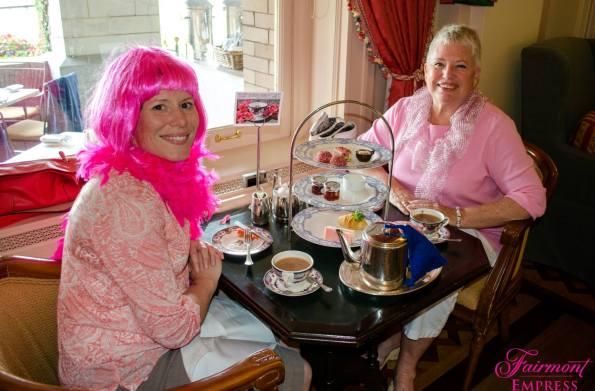 Empress pink wig